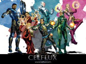 Celflux Team Wallpaper