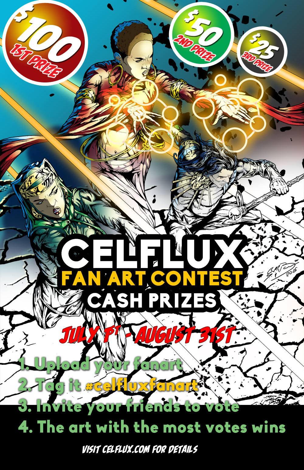 Celflux Fan Art Contest